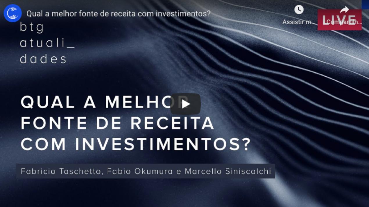 Qual a melhor fonte de receita com investimentos?